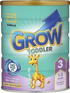 Abbott Grow Stage 3 Toddler Milk Formula, 1 year onwards, 900g