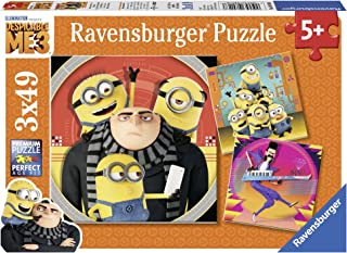 Ravensburger Universal: Despicable Me3 Box 49 Piece Jigsaw Puzzle for Kids – Every Piece is Unique, Pieces Fit Together Perfectly