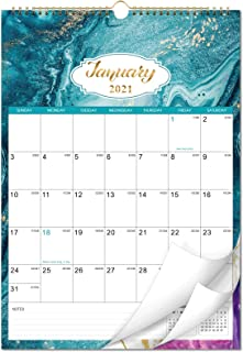 """2021 Calendar - Monthly Wall Calendar with Thick Paper, 12"""" x 17"""", Jan 2021 -Dec 2021, Large Blocks with Julian Dates, Twi..."""