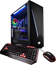 iBUYPOWER Pro Gaming PC Computer Desktop Trace 928770 (Intel i7-8700 3.20GHz, NVIDIA GeForce RTX 2070 8GB, 16GB DDR4, 1TB HDD, 240GB SSD, WiFi Included, Win 10 Home, VR Ready), Black