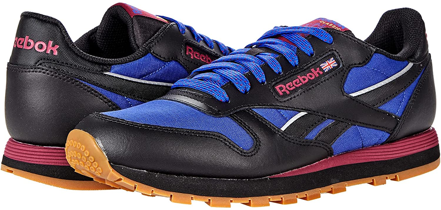 Reebok mens National uniform Branded goods free shipping Leather Classic