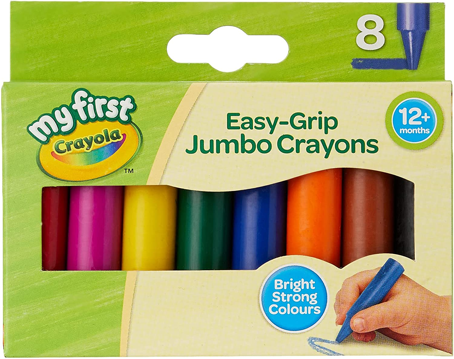 Crayola My First Jumbo Branded goods Safety and trust Crayons 8 Pieces