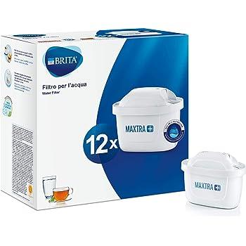 BRITA 1025126 Filtros para Jarra de Agua Maxtra+, Bianco, 12 Filtri
