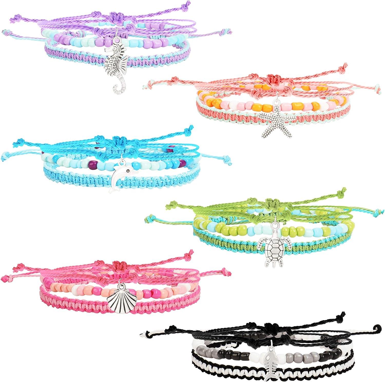 Time sale 18 PCS VSCO Bracelets for Directly managed store Teen Girls Kids Friendship