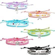 18 PCS VSCO Bracelets for Teen Girls, Kids Friendship Bracelets for Girls, Party Favors for Teens Girls with Sealife Charm...