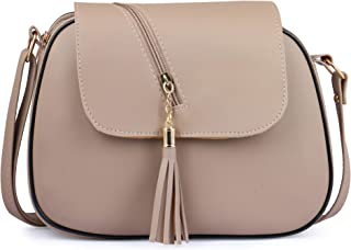 Ritupal Collection®women shoulder handbag PU (Beige)