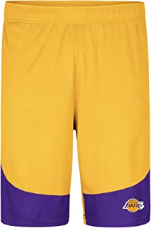 lakers yellow shorts