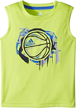 adidas Kids - Sport Ball Tank Top (Toddler/Little Kids)