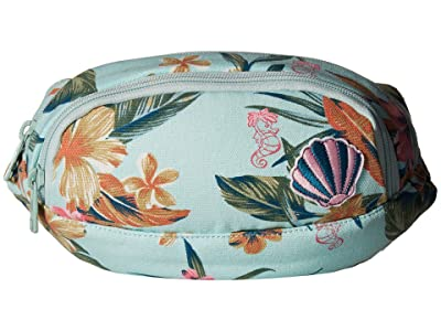 Roxy Kids The Little Mermaid Come Along Waist Pack (Wan Blue Heritage Floral) Bags