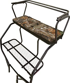 Allen Company Vanish Ladder Tree Stand Foam Seat Cushion, Extra Long and Wide - Foldable, 38 x 13 x 2 Inches - Realtree Edge