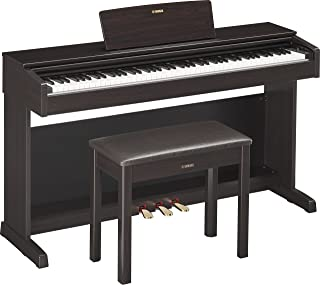 Yamaha YDP143R Arius Series Console Digital Piano with Bench, Dark Rosewood