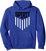 Washington Womens Jersey American Soccer Spirit Gift Pullover Hoodie