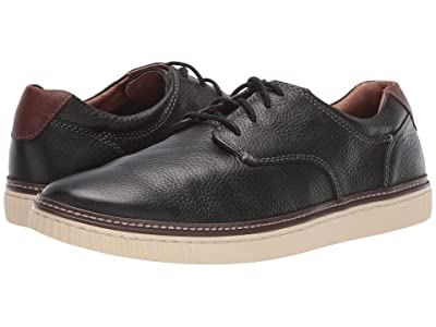 Johnston & Murphy Walden Casual Plain Toe Sneaker (Black) Men
