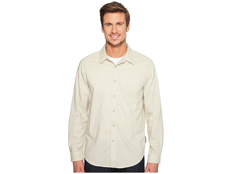 ExOfficio Lampara Long Sleeve Shirt (Light Stone) Men