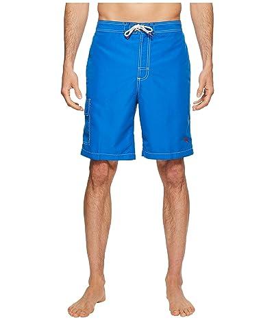 Tommy Bahama Baja Beach Swim Trunk (Santorini Blue) Men