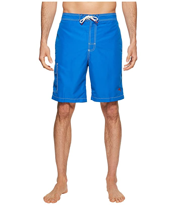 Tommy Bahama Baja Beach Swim Trunk (Santorini Blue) Men