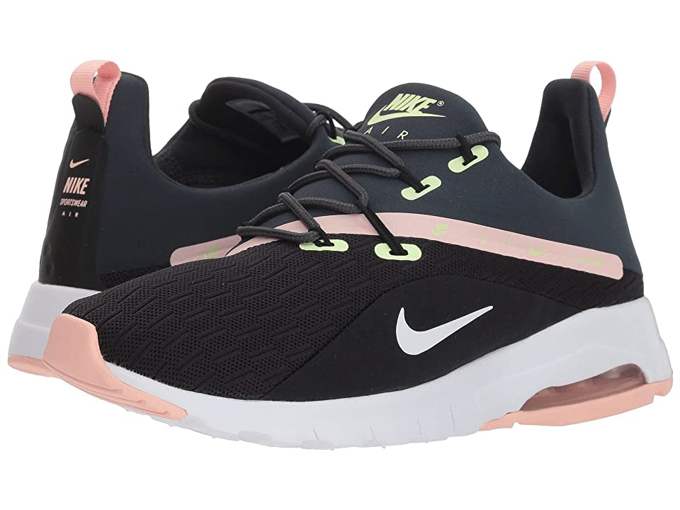 Nike Air Max Motion Racer 2 (Black/White/Anthracite/Storm Pink) Women