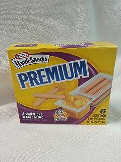 Kraft, Handi Snacks, Premium Breadsticks N Cheese, 6.54oz Box (Pack of 4)