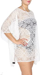 SERENITA Cover Up for Swimwear Women, Swimsuit, Fishnet Bathing Suit