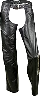 Harley-Davidson Women's Deluxe Leather Motorcycle Chaps 98097-06VW