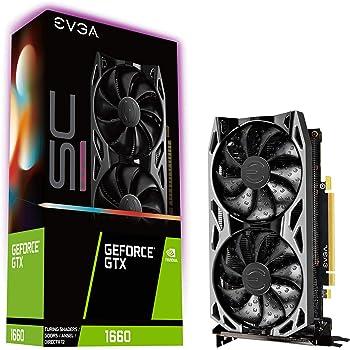 EVGA GeForce GTX 1660 SC Ultra Gaming Graphics Card