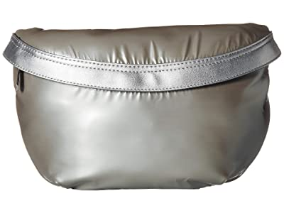 Sam Edelman Sophia Belt Bag (Silver) Handbags