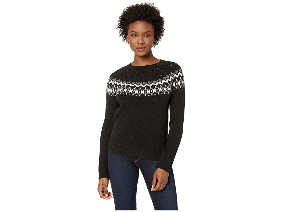 LAUREN Ralph Lauren Wool-Blend Sweater (Polo Black Multi) Women