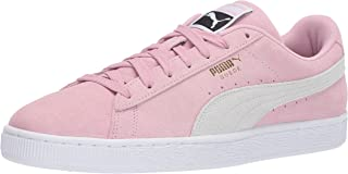 pink suede puma shoes