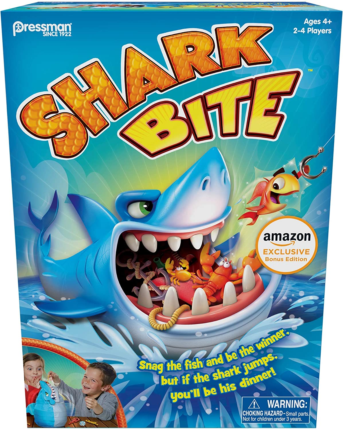 19. Shark Bite with Let's Go Fishin' Card Game
