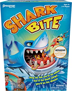 Amazon Exclusive Bonus Edition Shark Bite - Includes Let's Go Fishin' Card Game!