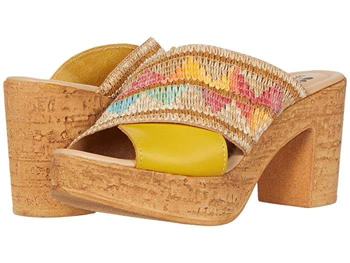 Spring Step  Tribeca (Yellow Multi) Womens Shoes