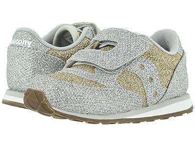 Saucony Kids Originals Jazz Hook Loop (Toddler/Little Kid) (Metallic Sparkle) Girls Shoes