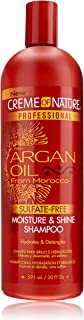 Best creme of nature argan shampoo ingredients Reviews