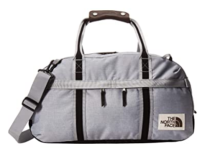 The North Face Berkeley Duffel Small (Mid Grey Light Heather/TNF Black Heather) Duffel Bags