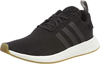NMD_R2 Mens Running Trainers Sneakers (UK 9.5 US 10 EU 44, Black Gum White BY9917)