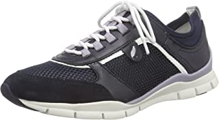 GEOX D Sukie B Womens Trainers/Shoes - Navy Blue