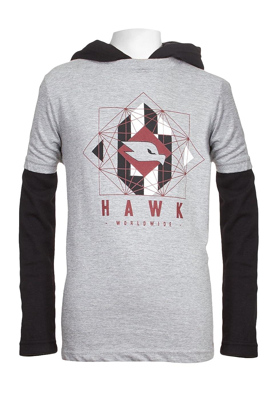TONY HAWK Boys Long Sleeve Graphic Hoody School Clothes