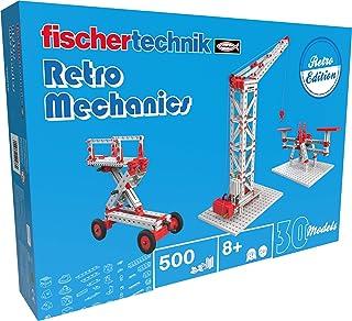 fischertechnik Retro Mechanics Construction Kit, Multicolor