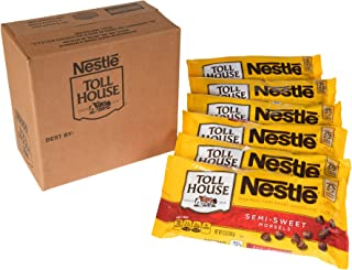 Nestle Toll House Milk Chocolate Morsels, 12 Ounce , 6 Count