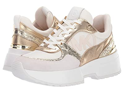 MICHAEL Michael Kors Ballard Trainer (Cream) Women