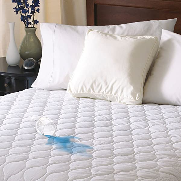 Sunbeam Heated Mattress Pad Water Resistant 10 Heat Settings Queen