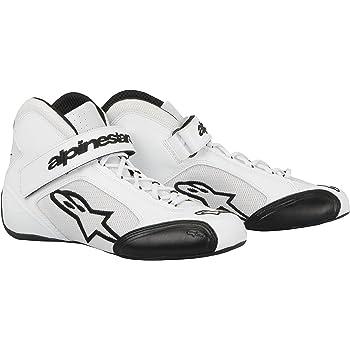 Alpinestars 2712113-12-4.5 Black//White Size-4.5 Tech 1-KX Karting Shoes