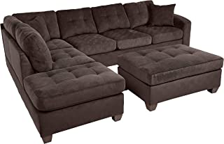 Fantastic Amazon Com Sectional Sofa Homelegance Inzonedesignstudio Interior Chair Design Inzonedesignstudiocom