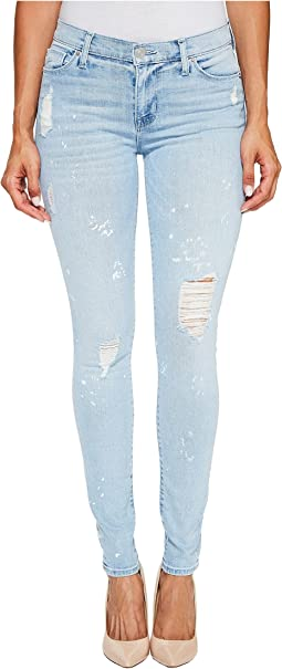 Nico Mid-Rise Super Skinny Five-Pocket Jeans in Reflector