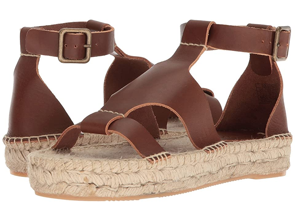 Soludos Banded Shield Sandal (Walnut) Women
