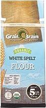 Grain Brain Organic White Spelt Flour (5 LB) All Purpose Flour