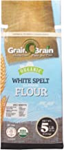 Grain Brain Organic White Spelt Flour (5 LB) All Purpose Flour