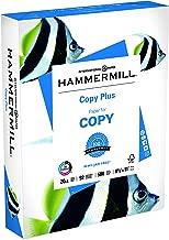 Hammermill Paper, Copy Plus Paper, 8.5 x 11 Paper, Letter Size, 20lb Paper, 92 Bright, 1 Ream / 500 Sheets (105007R) Acid Free Paper