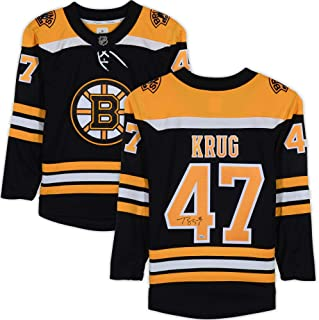 Torey Krug Boston Bruins Autographed Black Fanatics Breakaway Jersey - Fanatics Authentic Certified - Autographed NHL Jerseys