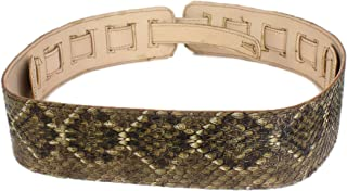 Chichester Inc. Real Rattlesnake Guitar Strap: Assorted (598-GS-AS) L22